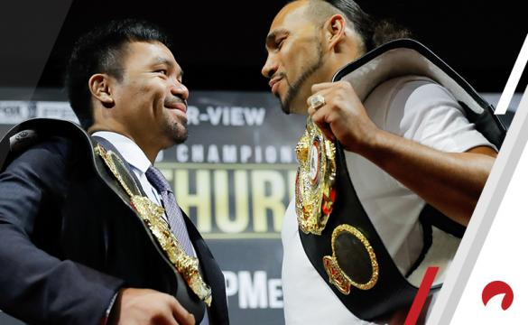 Manny Pacquiao vs Keith Thurman Betting Odds