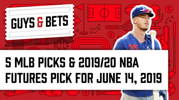 Odds Shark Guys & Bets Joe Osborne Gilles Gallant Andrew Avery Cody Bellinger Los Angeles Dogers MLB