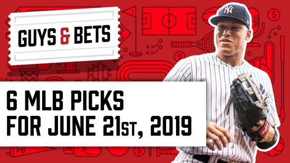 Odds Shark Guys & Bets Joe Osborne Gilles Gallant Aaron Judge New York Yankees MLB Betting