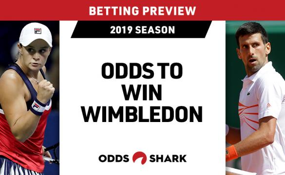 Wimbledon Betting Odds June 24, 2019