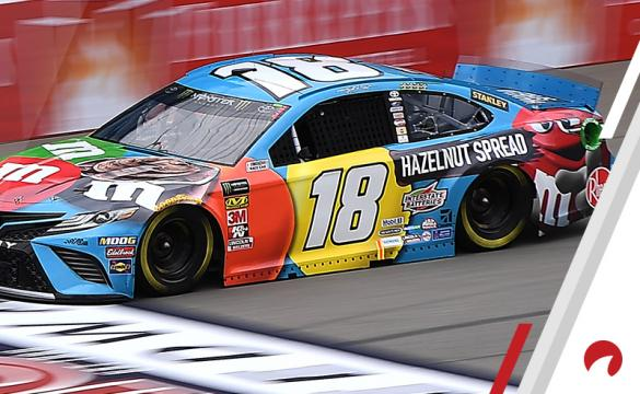 Kyle Busch is the favorite in the Chicagoland Raceway odds.