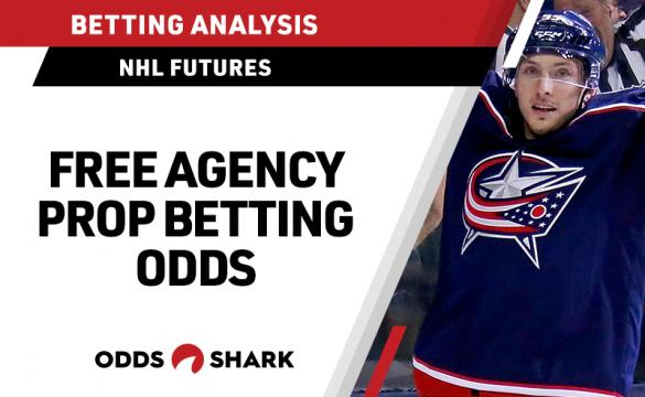 NHL Free Agency Prop Betting Odds