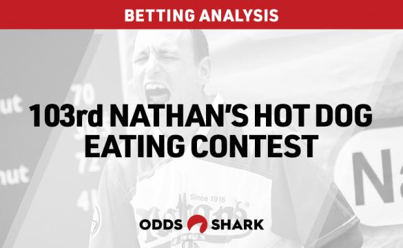 Nathan's Hot Dog Eating Contest Betting Odds July 02