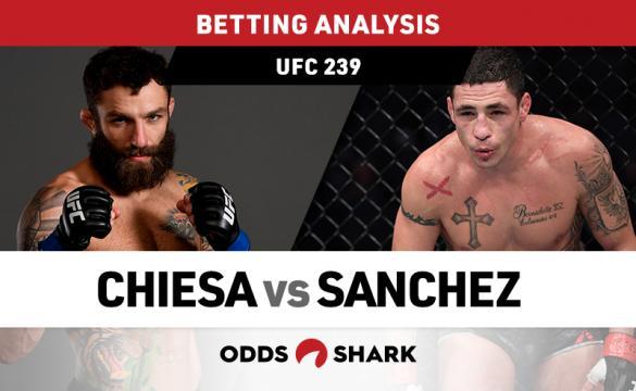 UFC 239: Chiesa vs Sanchez Preview and Pick