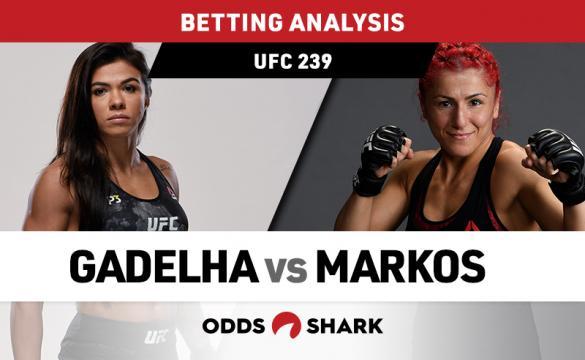 UFC 239: Gadelha vs Markos Preview and Pick