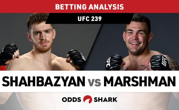 UFC 239: Shahbazyan vs Marshman Preview and Pick