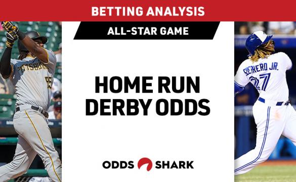 Josh Bell and Vladimir Guerrero Jr. are the two betting favorites for the 2019 Home Run Derby