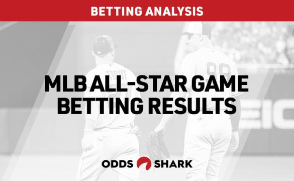 MLB All-Star Game Betting Results