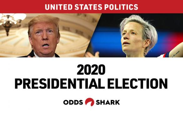 Megan Rapinoe is now available to bet as the next President of the United States.