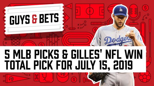 Odds Shark Guys & Bets Kris Abbott Gilles Gallant Andrew Avery Clayton Kershaw MLB Betting MLB Odds Los Angeles Dodgers