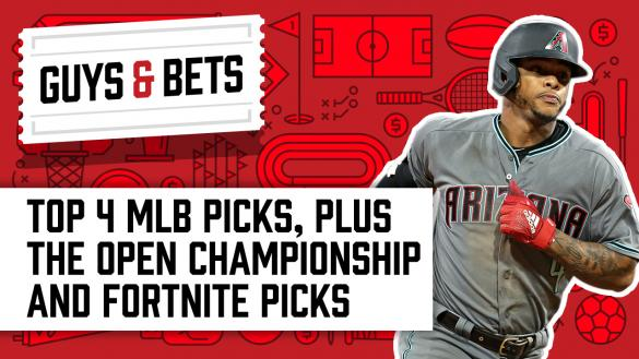Odds Shark Guys & Bets Kris Abbott Iain MacMillan Andrew Avery MLB Betting Fortnite World Cup Open Championship Odds Ketel Marte Arizona Diamondbacks