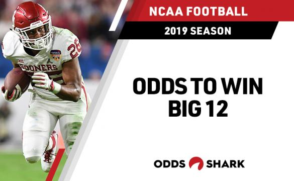 Odds to win the 2019 Big 12 Title