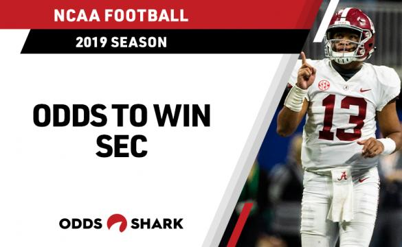Odds to win the 2019 SEC Title
