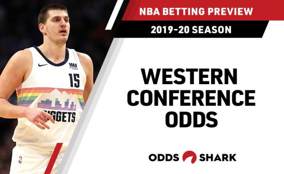 NBA Western Conference Betting Odds July 19, 2019