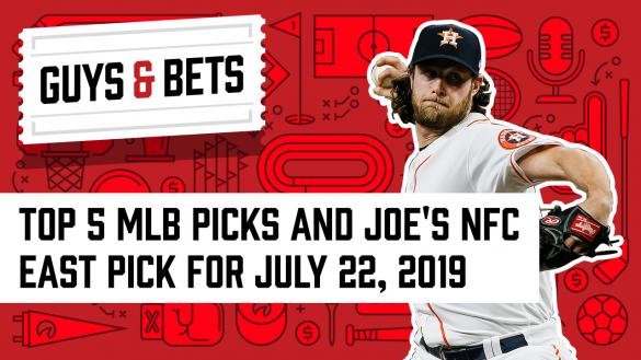 Odds Shark Guys & Bets Joe Osborne Kris Abbott Andrew Avery Gerrit Cole Houston Astros MLB Betting Odds Wagers