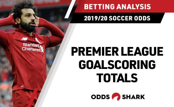 Mohamed Salah Liverpool 2019-20 Premier League Goal Totals Odds