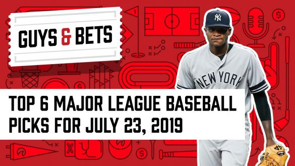 Odds Shark Guys & Bets Joe Osborne Kris Abbott Andrew Avery Domingo German New York Yankees MLB Betting MLB Odds MLB Picks