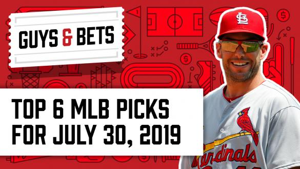 Odds Shark Guys & Bets Joe Osborne Kris Abbott Paul Goldschmidt St. Louis Cardinals MLB Betting Odds Picks