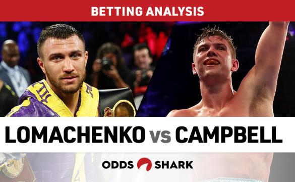 Lomachenko vs Campbell Betting Odds