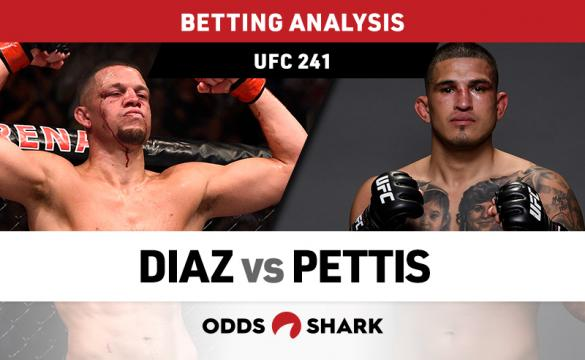 UFC 241: Diaz vs Pettis Betting Odds