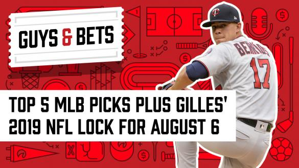 Odds Shark Guys & Bets Joe Osborne Gilles Gallant Andrew Avery Jose Berrios Minnesota Twins MLB Odds Betting Picks