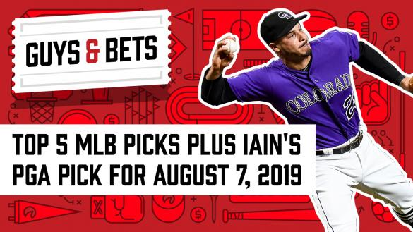 Odds Shark Guys & Bets Joe Osborne Iain MacMillan Andrew Avery Nolan Arenado Colorado Rockies MLB Betting Bets Odds Wagers Picks