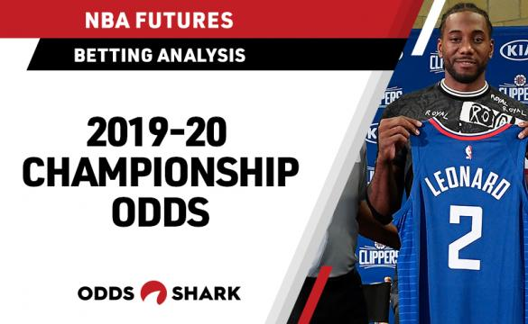 NBA Championship Odds August 7, 2019