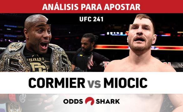 Análisis para apostar en el UFC 241: Cormier vs Miocic II