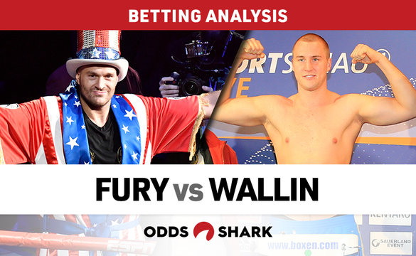 Fury vs Wallin Betting Odds