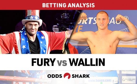 Fury vs Wallin Betting Odds