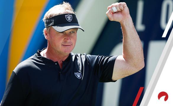 Jon Gruden Raiders NFL Betting
