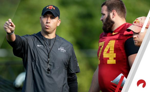 Matt Campbell Iowa State Cyclones 2019 NCAAF Betting Preview Football
