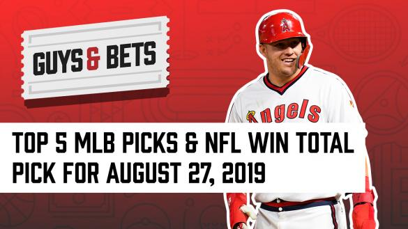 Odds Shark Guys & Bets Kris Abbott Iain MacMillan Andrew Avery MLB Betting Picks Wagers NFL Betting Picks Wagers Mike Trout Los Angeles Angels