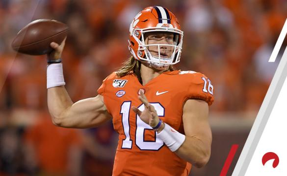 Trevor Lawrence Oklahoma Heisman Trophy favorites betting odds Harry Gagnon