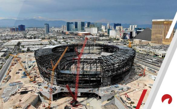 Las Vegas Stadium Under Construction