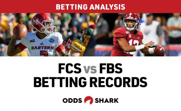 FCS vs FBS Betting Records