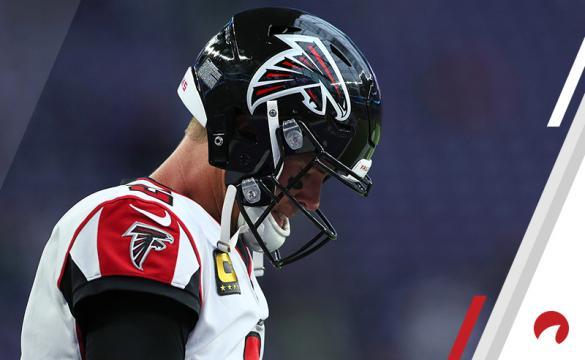 NFL Week 1 Double-Digit Losers September 10 Matt Ryan