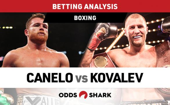 Canelo vs Kovalev Betting Odds