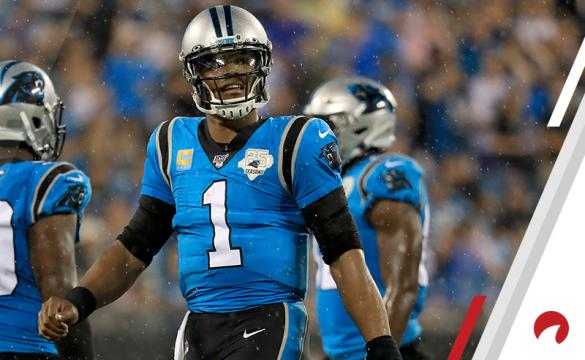 Cam Newton Panthers NFL Betting