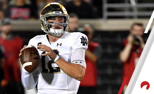 Ian Book NCAAF Football Betting Preview Notre Dame Fighting Irish vs Georgia Bulldogs