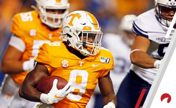Ty Chandler NCAAF Football Betting Preview Tennessee Volunteers vs Florida Gators