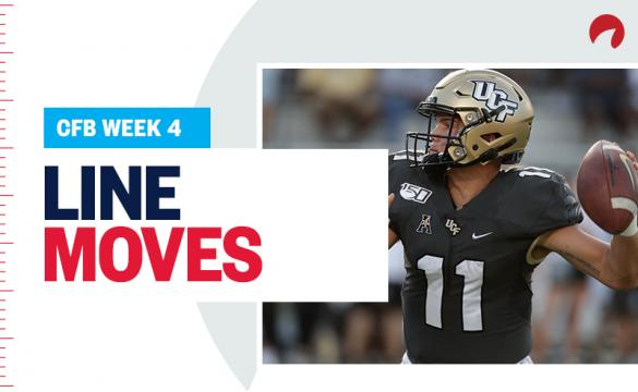 Week 4 College Football Opening Lines