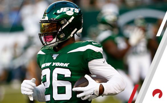 Le'Veon Bell NFL Football Betting Preview New York Jets vs New England Patriots