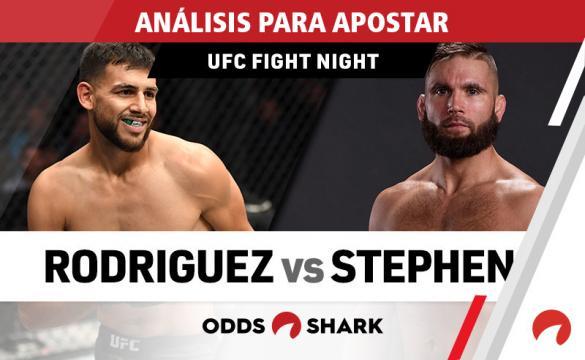 Análisis para apostar en el UFC Fight Night 159: Rodriguez Vs Stephens