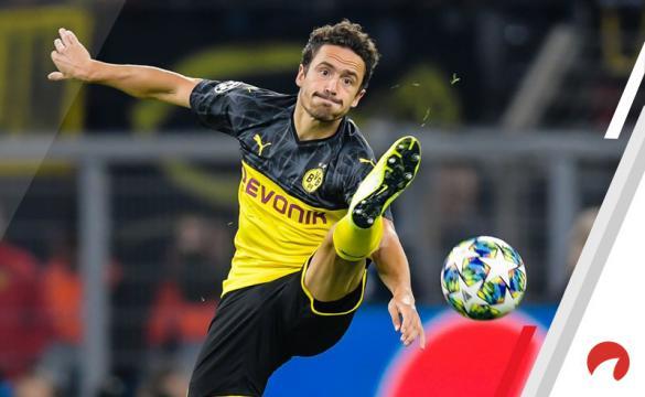 Previa para apostar en el Eintracht Frankfurt Vs Borussia Dortmund de la Bundesliga 2019-20