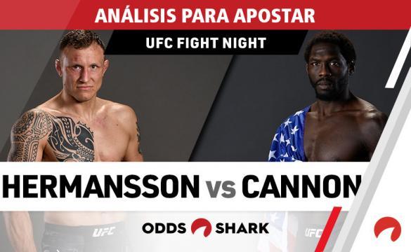 Análisis para apostar en el UFC Fight Night 160: Hermansson Vs Cannonier