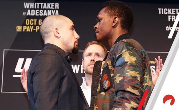 Análisis para apostar en el UFC 243: Whittaker Vs Adesanya