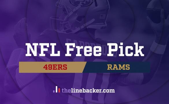 NFL Free Pick Linebacker 49ers vs Rams