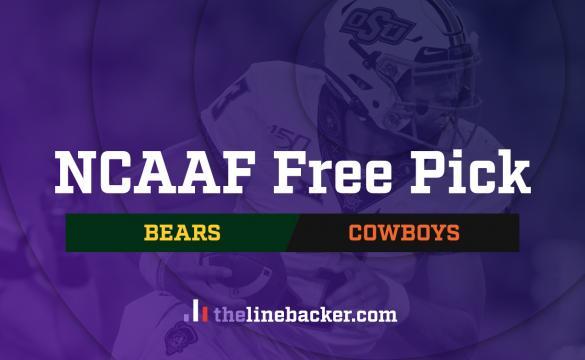 NCAAF Free Pick: Baylor Bears vs Oklahoma State Cowboys