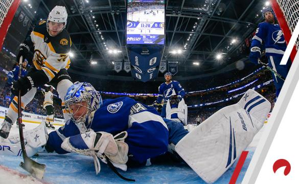 Jake DeBrusk Andrei Vasilevskiy NHL Hockey Betting Preview Tampa Bay Lightning vs Boston Bruins